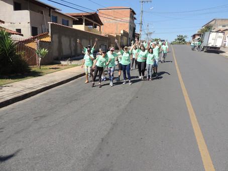 II Caminhada do Lar Nossa Senhora da Saúde
