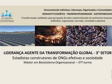 CURSO: LIDERANÇA AGENTE DA TRANSFORMAÇÃO GLOBAL - 3° SETOR
