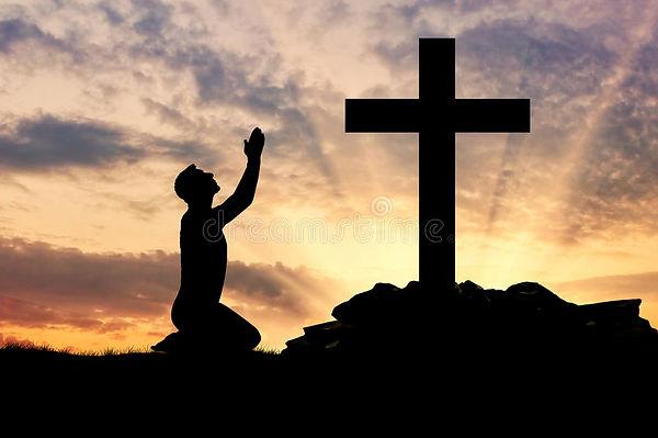 silhouette-man-praying-concept-religion-