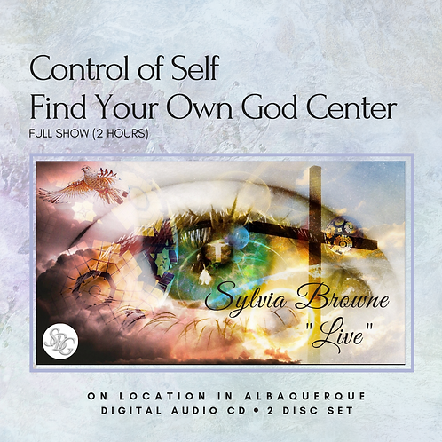 Control Of Self Find Your Own God Center