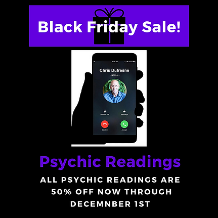 Black Friday Sale Psychic Readings