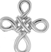#102 Celtic Cross Knot Ring