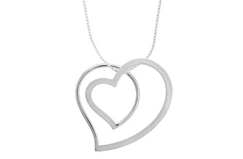 #022 Double Heart Necklace