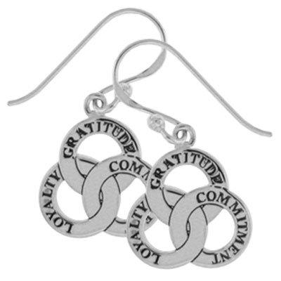 #079 Omega Dangle Earrings