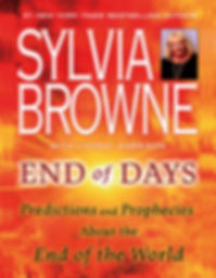 Book End of days Sylvia Browne predictions corona virus