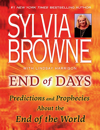 Book End of days Sylvia Browne predictions corona virus