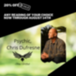 Sale Psychic Readings Chris Dufresne