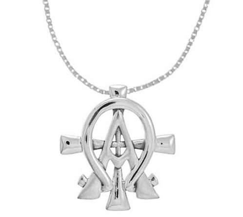 Alpha Omega Necklace