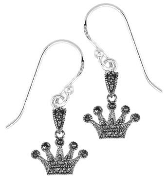 #072 Azna Crown Earrings
