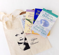 Sylvia Browne book bag