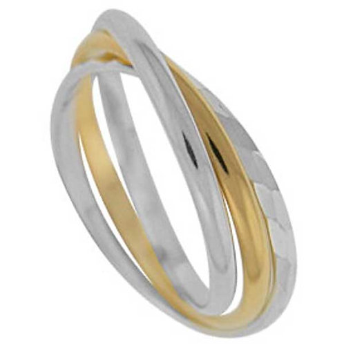 Intertwined Trilogy Rolling Ring