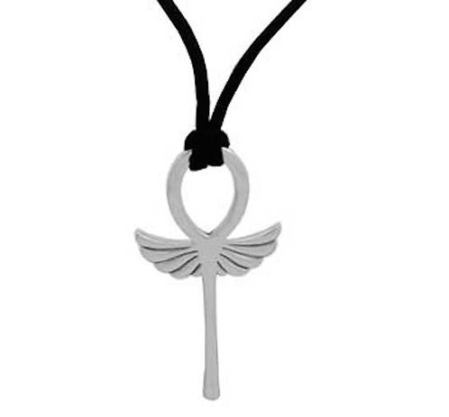 #020 Winged Ankh Necklace