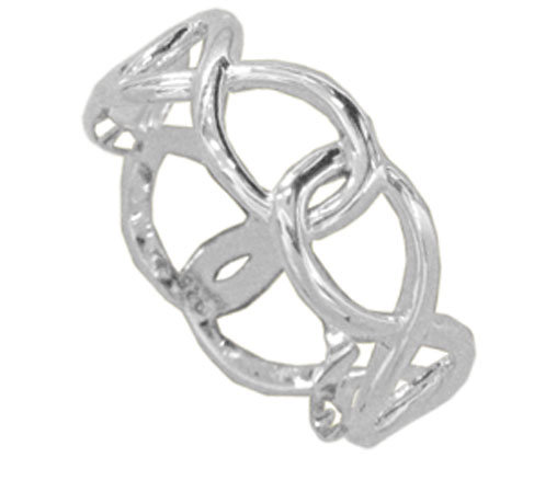 #101 Open Infinity Ring