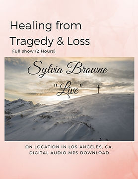 Healing from tragedy and loss