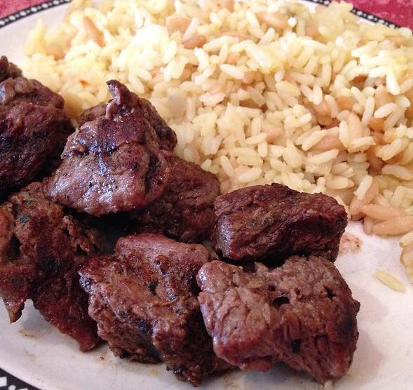 steak tips