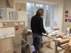 Atelier Woserin Workshop Malerei