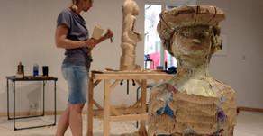 Der Bildhauerworkshop mit Peter Hermann