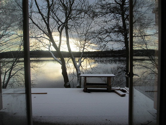 so schön ists auch im Winter...und vor allem ruhig!