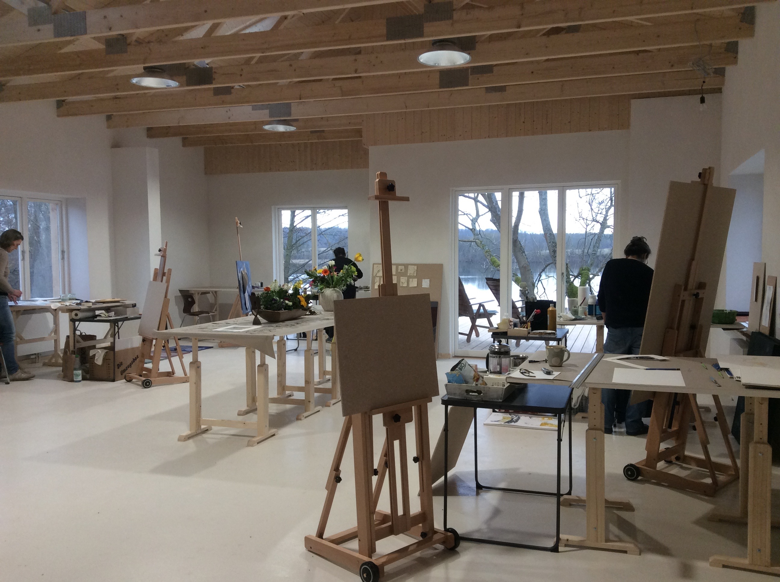 Atelier im Anbau
