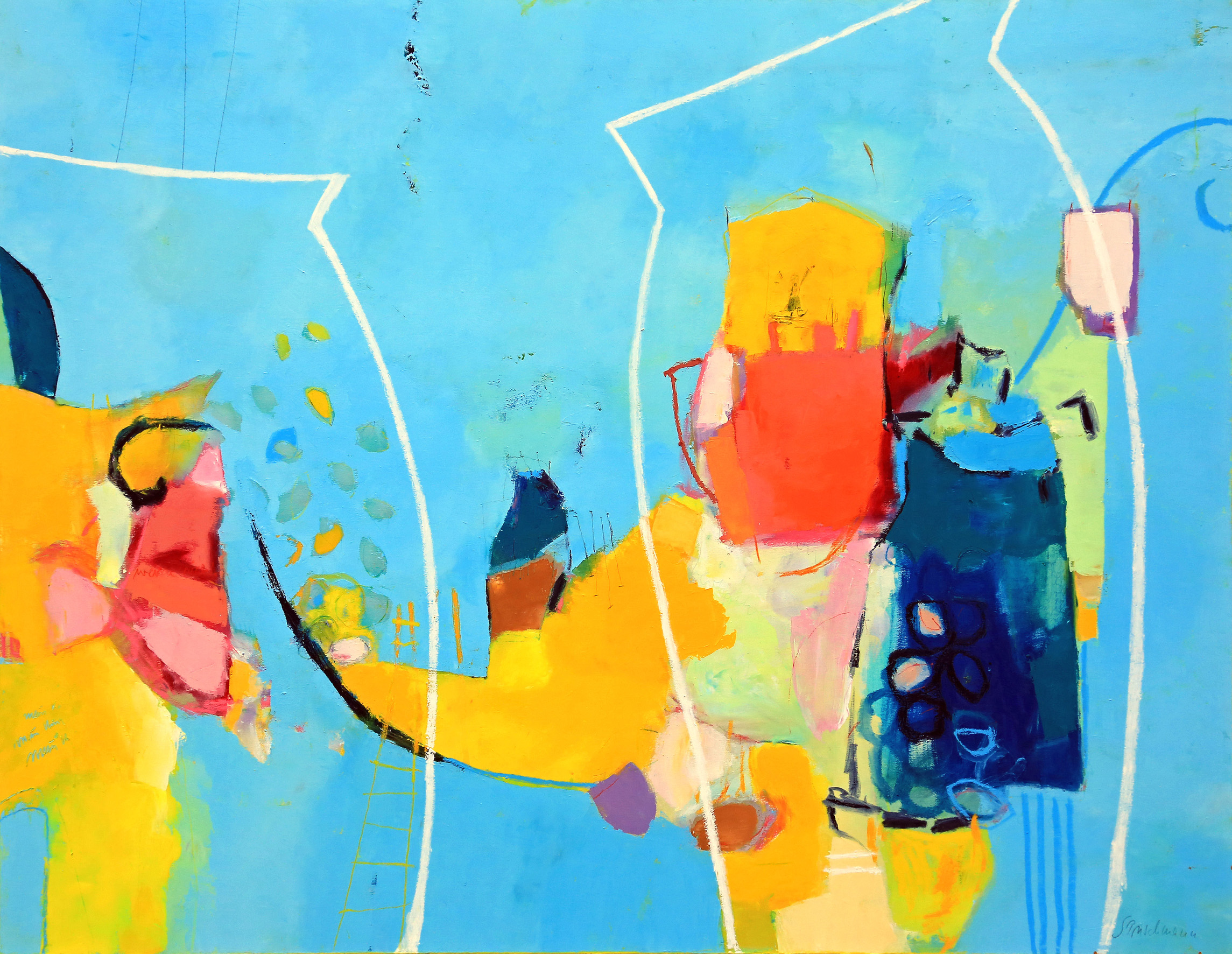 _, 180 x 140, Öl auf Maltuch, 2016