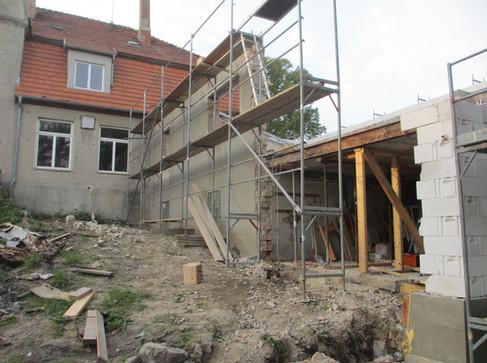 Bauphase - eine Ruine!
