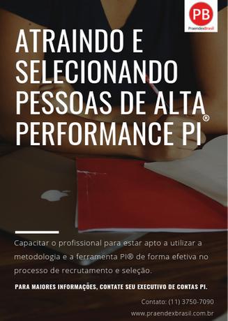 WS Atraindo e Selecionando Pessoas de Alta Performance