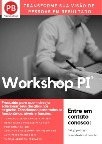 Workshop Analista PI