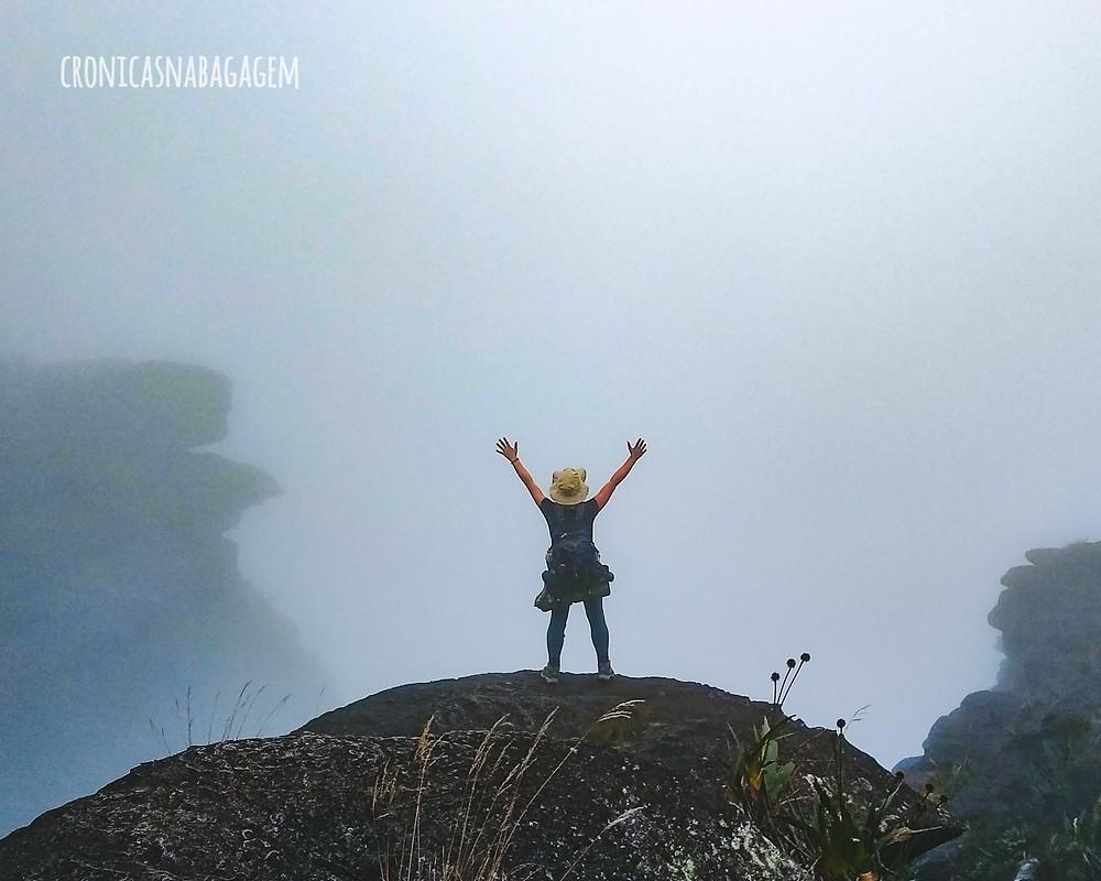 Neblina no alto do Monte Roraima