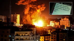 'Roof knocking': how Israel warns of airstrikes [VIDEO]