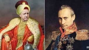 Russian Imperialism meets delusions of Ottoman Grandeur