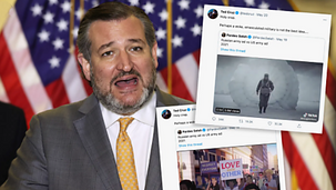 """Veterans call out Ted Cruz after senator says U.S. Army ad shows """"woke, emasculated military [VIDEO]"""