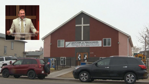 Canadian Police with SWAT to check on compliance with COVID-regulations in local church [VIDEO]