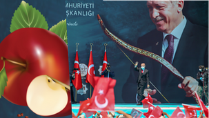 """Take Erdoğan seriously when he's talking about the """"Red Apple"""" [VIDEO}"""
