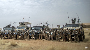 'Dust and rocky roads' made half of German combat vehicles in Mali inoperative