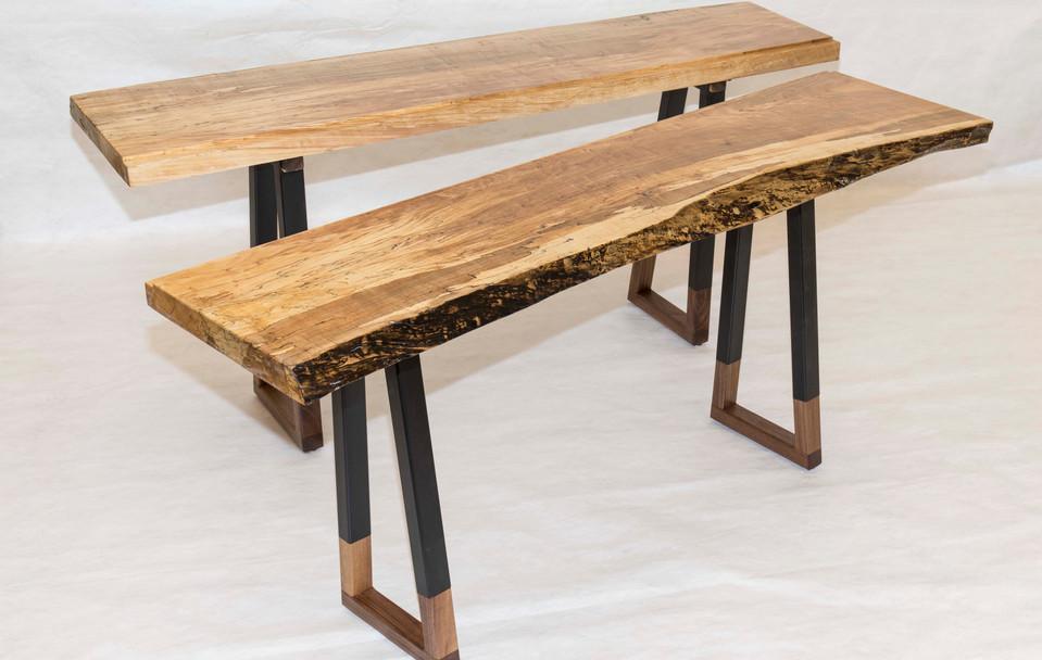 Detachable Live Edge Table