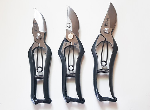 Types of Secateurs - What's type B, A and F?