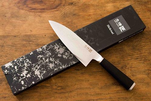 SHIKISAI MIYAKO - DEBA KNIFE - 33 LAYER DAMASCUS
