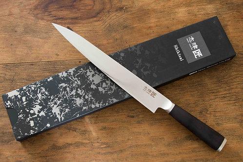 SHIKISAI MIYAKO - YANAGIBA KNIFE - 33 LAYER DAMASCUS