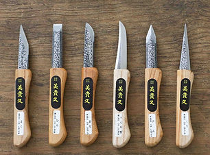 Made in Japan handmade carving knives se
