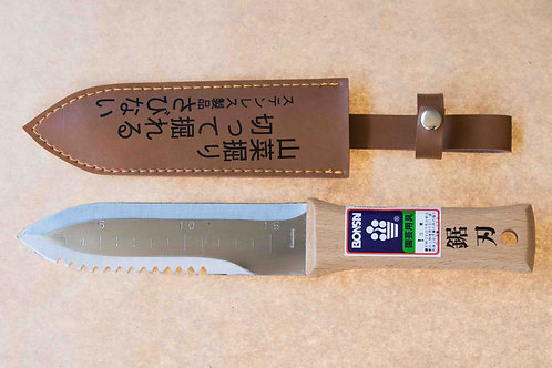 HORI HORI GARDEN AND FORAGING TOOL - STAINLESS STEEL