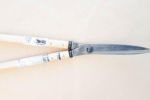 IKARASHI 'KANENORI' CARBON STEEL CURVED SHEARS (195MM BLADE)