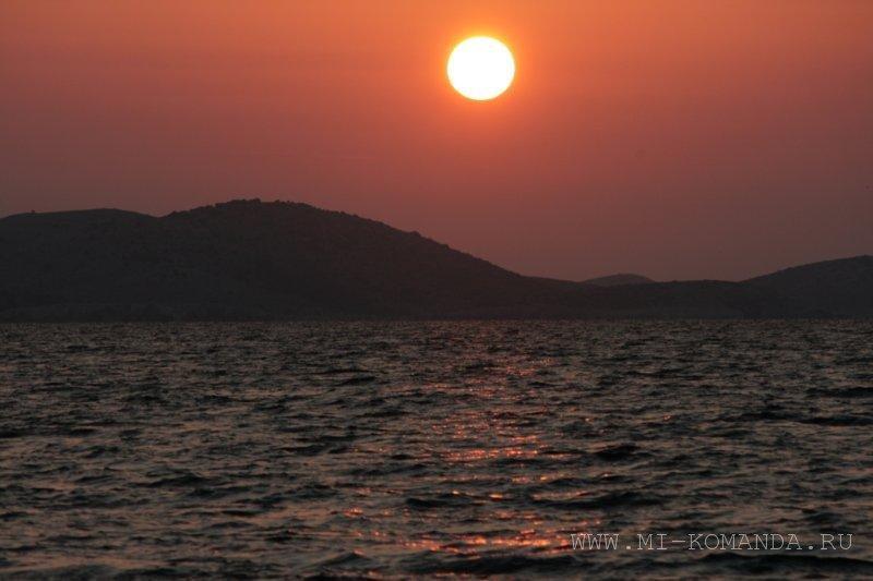 восход солнца в Хорватии (1)