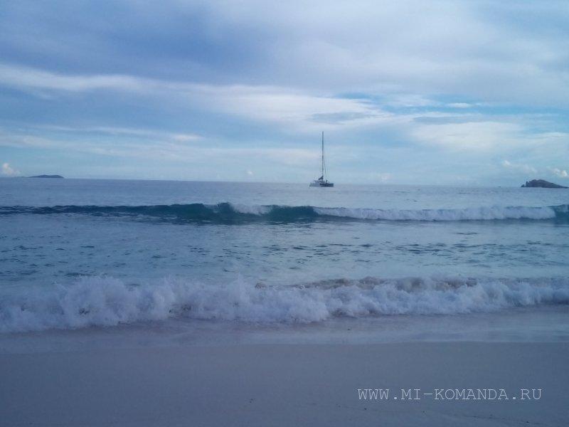 якорная стоянка остров Ладиг