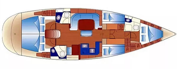 план яхты Bavaria49.JPG