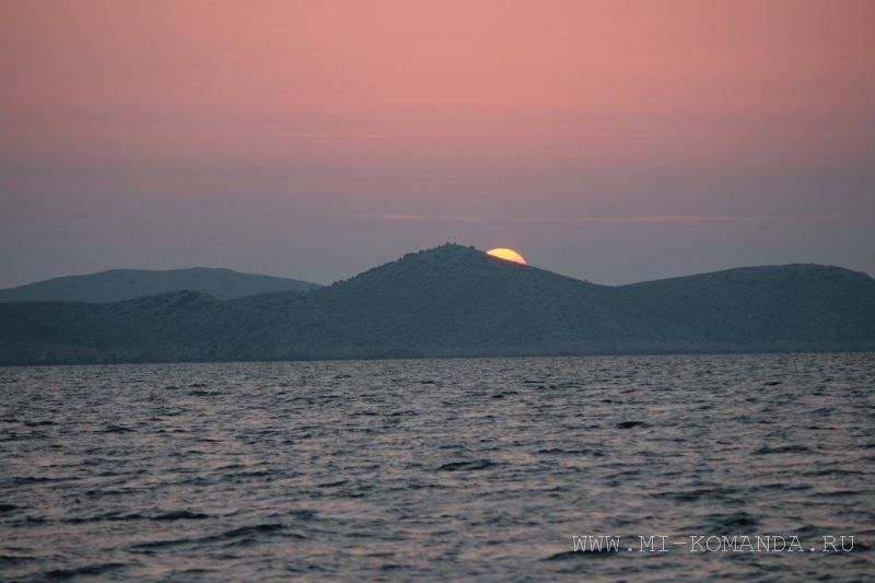восход солнца в Хорватии (3)