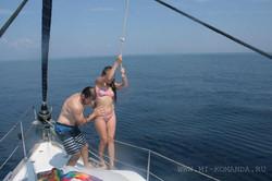экстрим на парусной яхте (7)