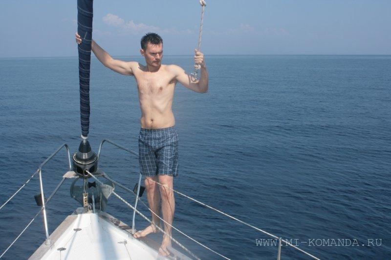 экстрим на парусной яхте (2)