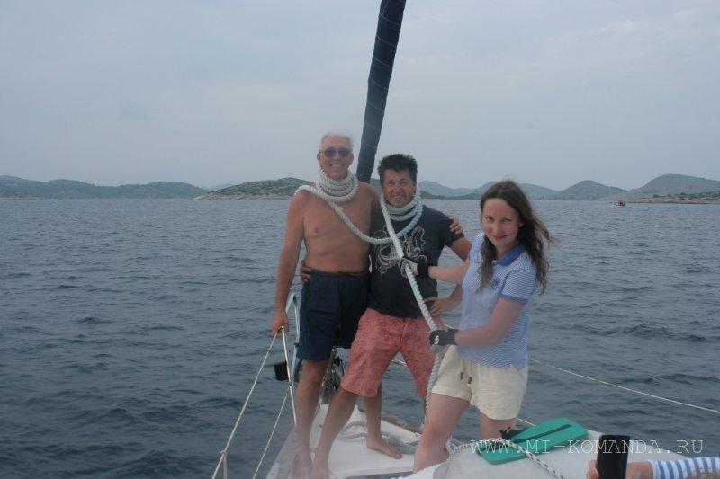 дурачество на яхте (3)