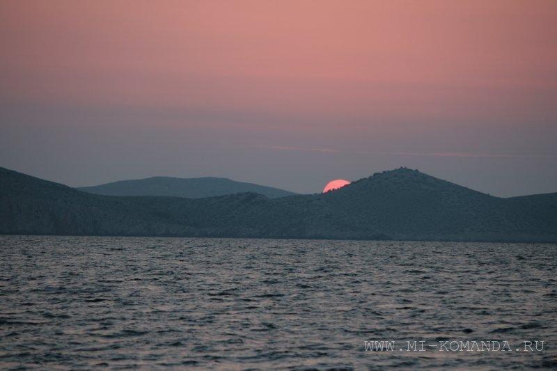 восход солнца в Хорватии (2)