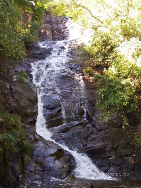 Водопады на Сейшельских островах
